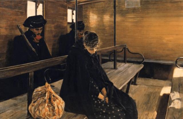 Imagen pintura mujer durmiendo