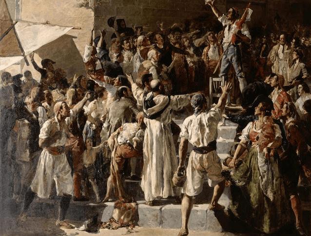 Imagen pintura revuelta